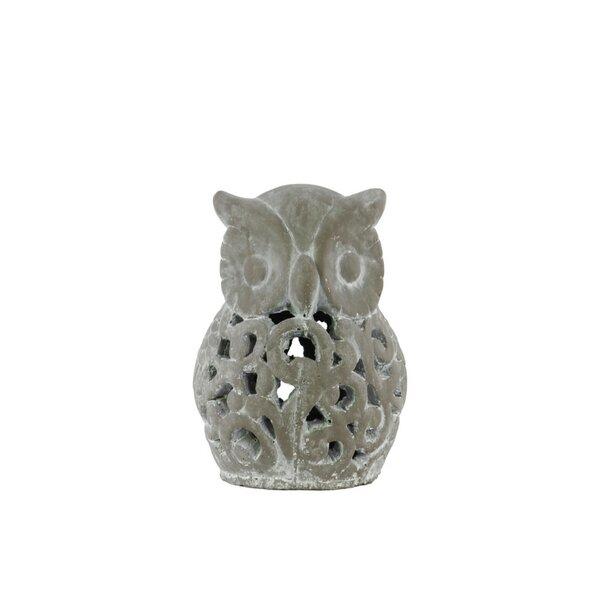Ybarra Ceramic Owl by August Grove