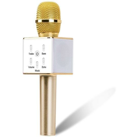 Portable Wireless Karaoke Microphone by Myfuncorp