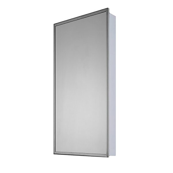 Brendon 13.5 x 36 Surface Mounted Medicine Cabinet by Ebern Designs