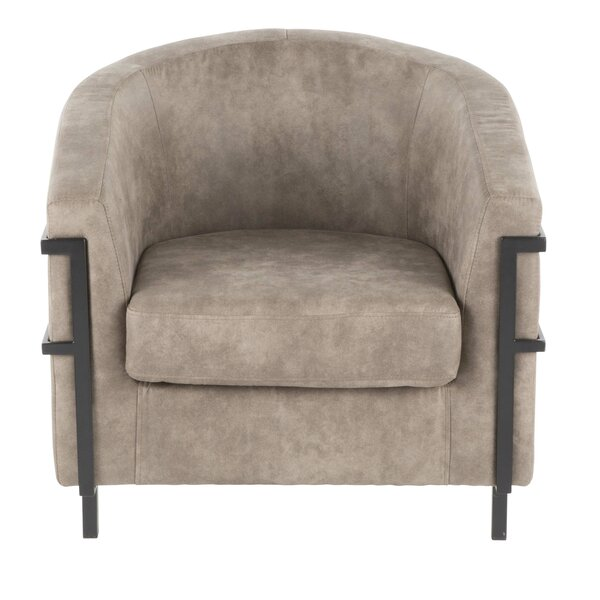 Troxler Barrel Chair by Millwood Pines Millwood Pines