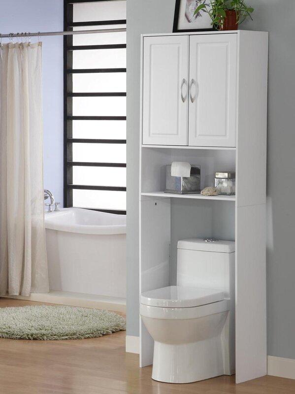 "Jorge 24.38"" W x 71.5"" H Over the Toilet Storage"