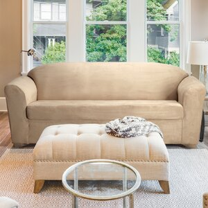 Madison Box Cushion Sofa Slipcover by CoverWorks