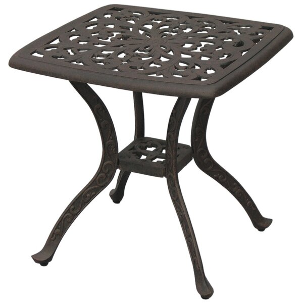 Fairmont Metal Frame Side Table by Astoria Grand