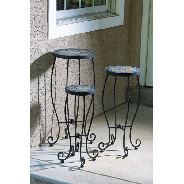 Almonburry Plant Stand Set (Set of 3) by Bungalow Rose