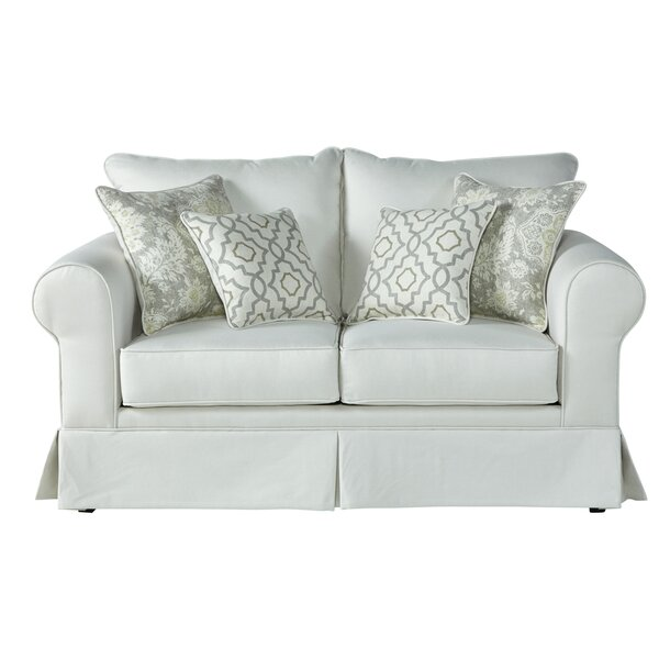 Luxury Brands Dedrick Loveseat by Three Posts by Three Posts