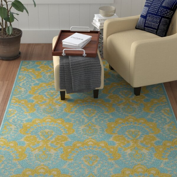 Lewis Multi-colored Indoor/Outdoor Area Rug by Winston Porter