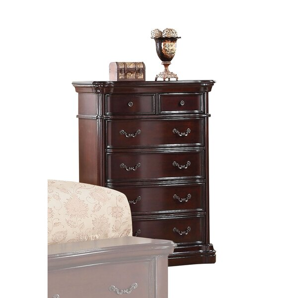 Iva 5 Drawer Standard Chest by Astoria Grand