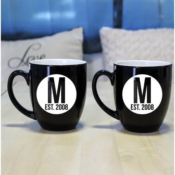 Geil Bistro Coffee Mug (Set of 2) by Ebern Designs