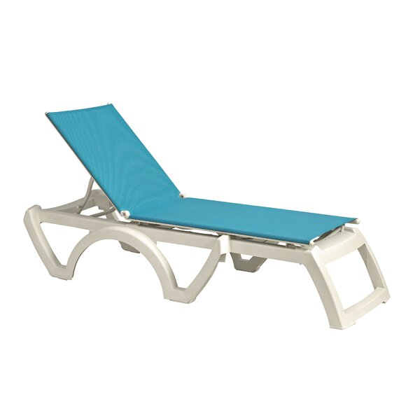 Jepsen Reclining Chaise Lounge (Set of 2) by Highland Dunes Highland Dunes