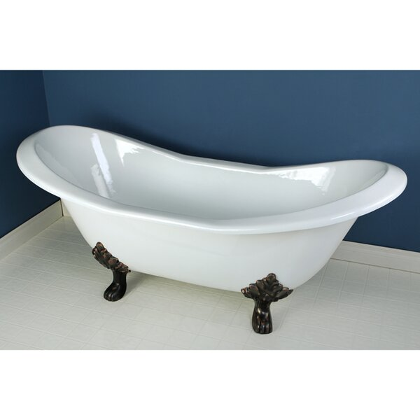 Aqua Eden 72 x 31  Soaking Bathtub by Kingston Brass