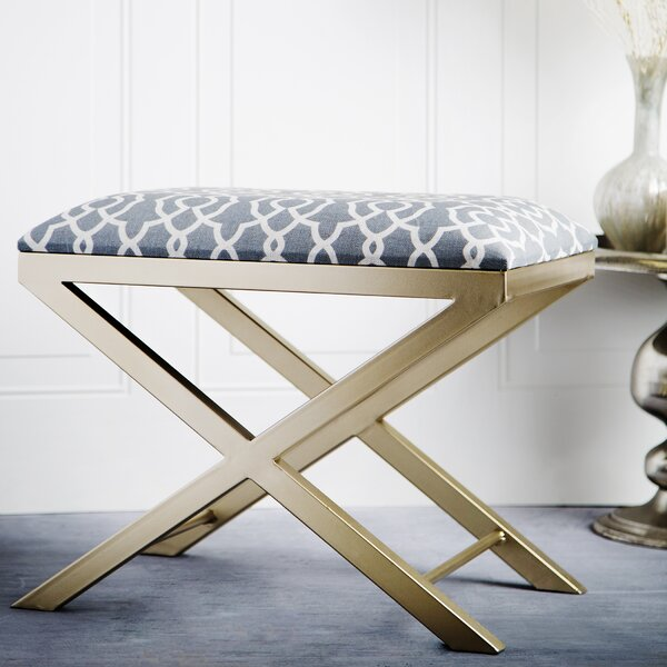Keesha Vanity Stool by House of Hampton