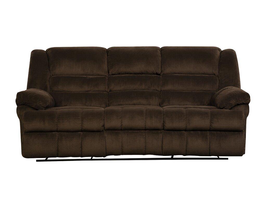 Reclining Loveseats Sofas You Ll Love Wayfair ~ Two Cushion Reclining Sofa