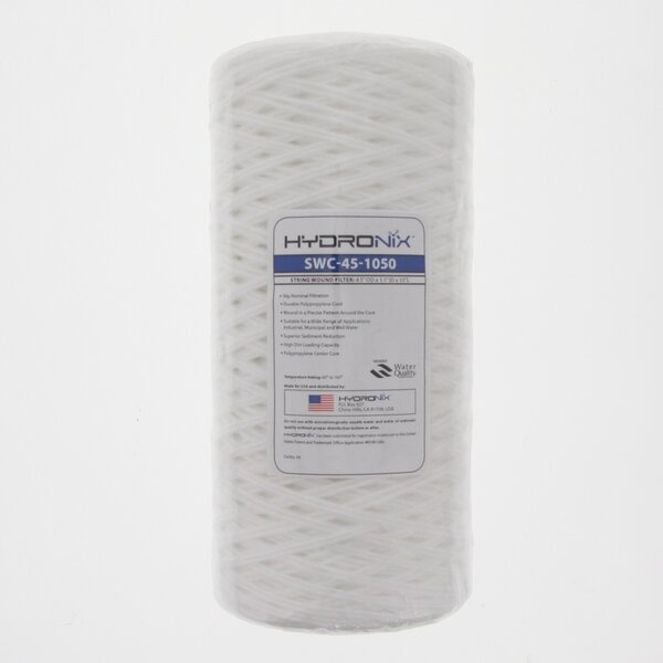 String Wound Sediment Water Filter By Hydronix.