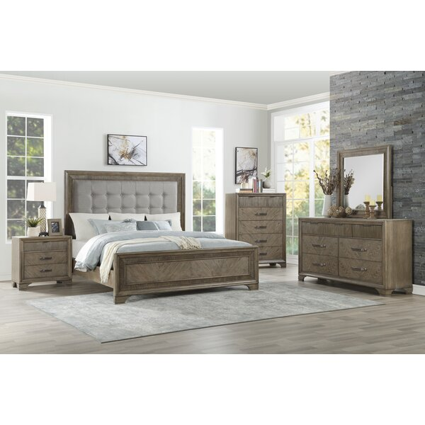 Carlos Queen Panel Configurable Bedroom Set by Alcott Hill