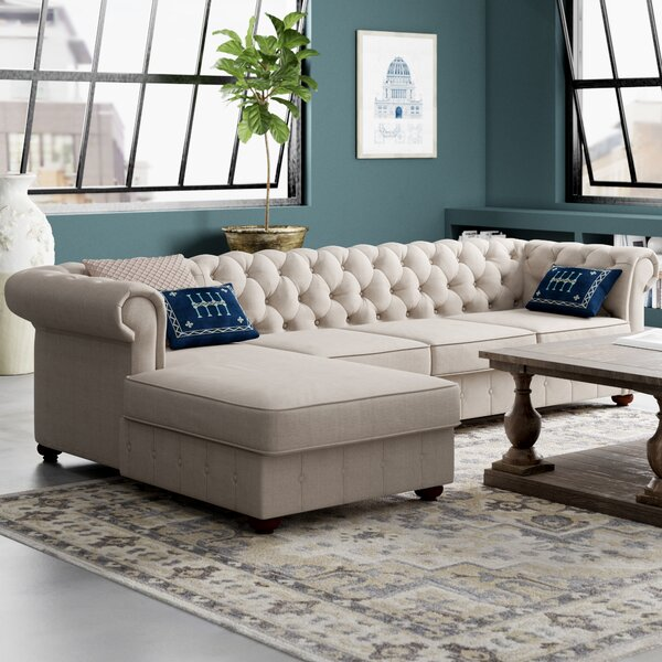 Read Reviews Quitaque Left Hand Facing Sectional