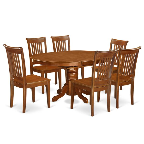 Spurling 7 Piece Extendable Dining Set by August Grove