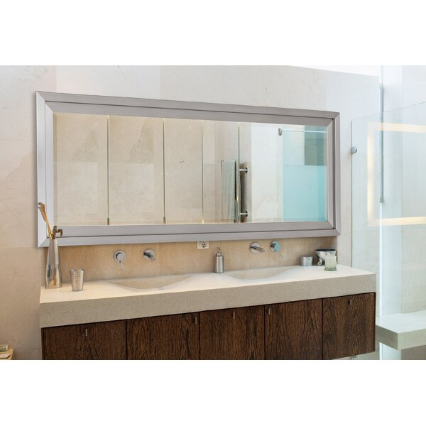 Satin Bathroom Mirror by Hitchcock Butterfield Company