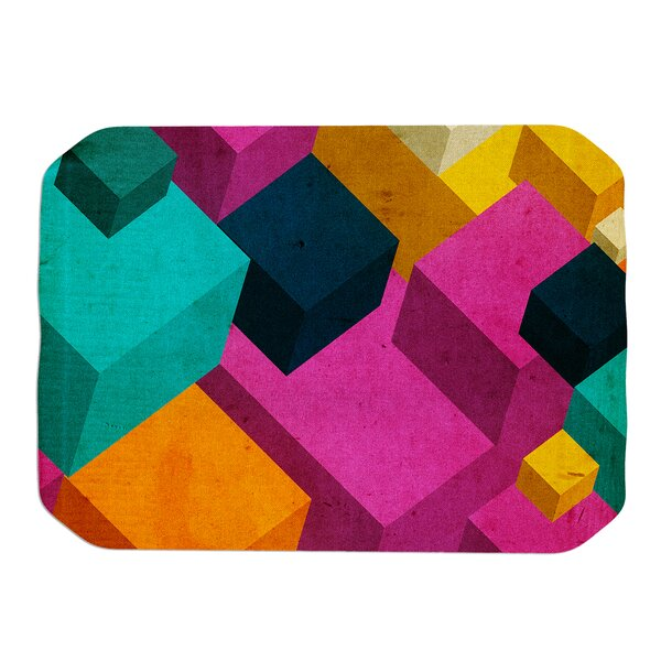 Danny Ivan Happy Cubes Placemat by East Urban Home