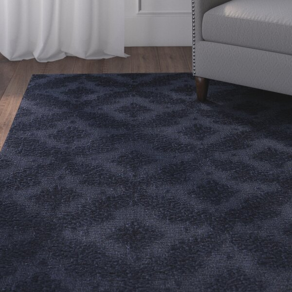 Spafford Blue Area Rug by Charlton Home