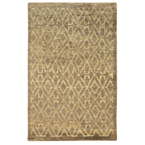 Tommy Bahama Ansley Taupe / Beige Geometric Rug by Tommy Bahama Home