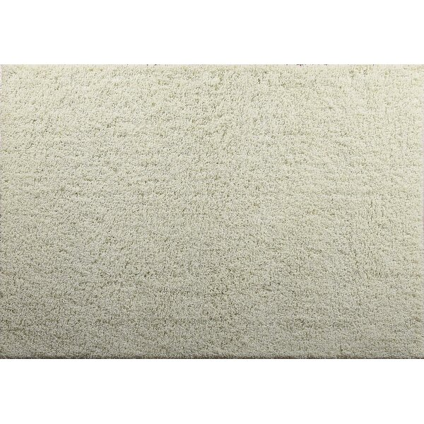 Aadhya Plush Cream Area Rug by Winston Porter