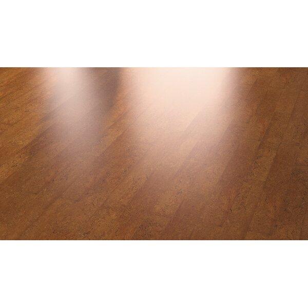 Cork Essence 5-1/2 Cork Flooring in Flock Chestnut by Wicanders