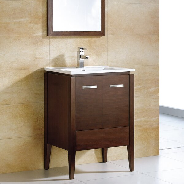 Catherine 36 Single Bathroom Vanity Set with Mirror by Adornus
