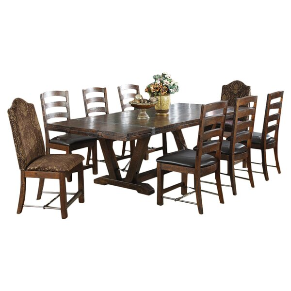 Diez 13 Piece Extendable Dining Set by Loon Peak