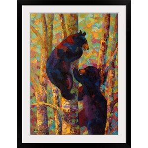 Two High by Marion Rose Framed Painting Print by Great Big Canvas