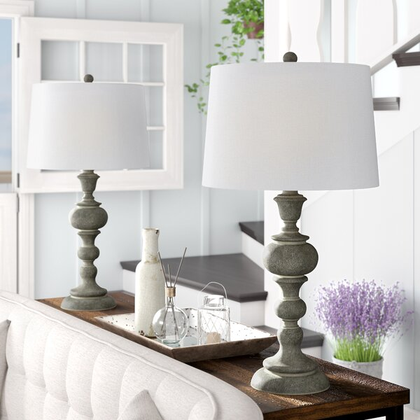 Mathena Washed 30 Table Lamp (Set of 2) by Gracie Oaks