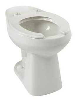Adriatic Commercial Dual Flush Elongated Toilet Bowl by Mansfield Plumbing Products