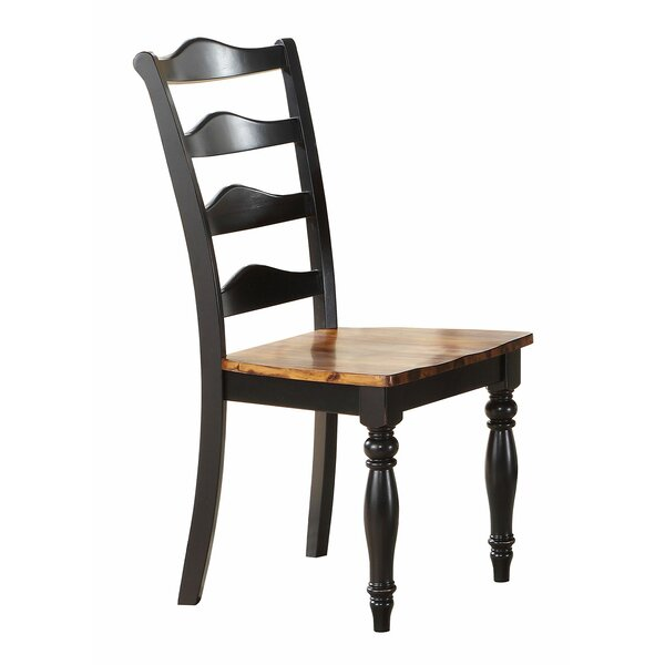 Wappinger Solid Wood Dining Chair (Set Of 2) By Darby Home Co