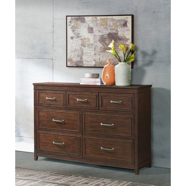 Del Mar 7 Drawer Double Dresser by Alcott Hill Alcott Hill®