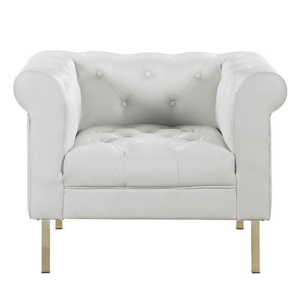Darlington Club Chair by Everly Quinn