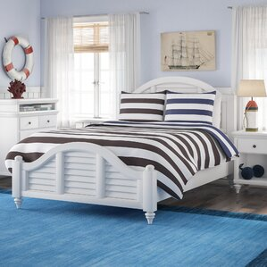 Harrison Striped Panel 3 Piece Bedroom Set by Beachcrest Home