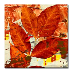 Fall Ink XIII Graphic Art on Wrapped Canvas by Ready2hangart