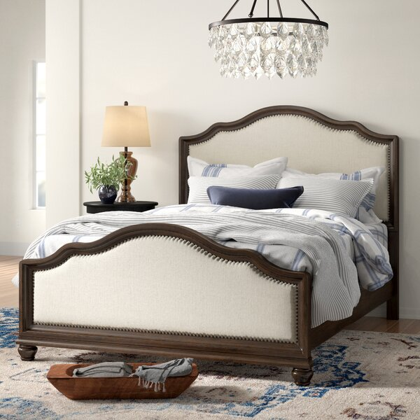 Lavada Upholstered Standard Bed by Three Posts