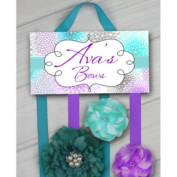 Mums Personalized Hair Bow Holder by Toad and Lily