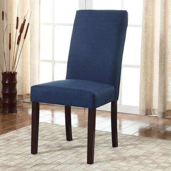 Metinaro Upholstered Dining Chair (Set of 2) by Latitude Run