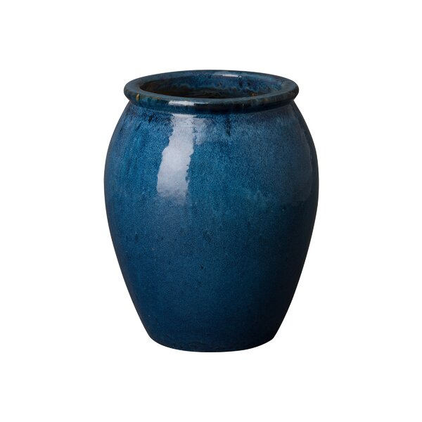 Quin Ceramic Pot Planter by Emissary Home and Garden
