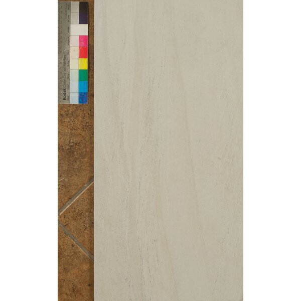 Purestone 12 x 24 Porcelain Wood Look/Field Tile in Bianco by Bedrosians