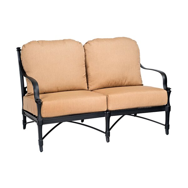 Isla Loveseat with Cushions by Woodard