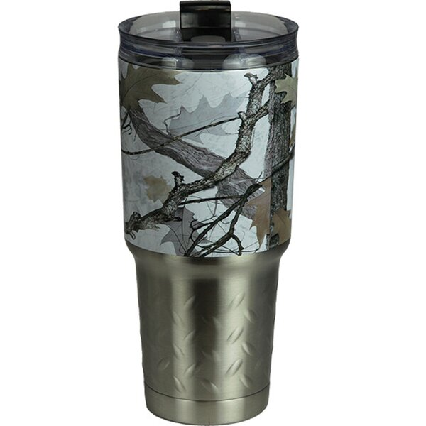 Wanamaker Camo 32 oz. Stainless Steel Travel Tumbler by Millwood Pines