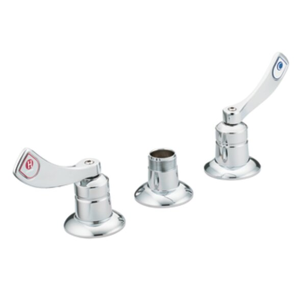 M-Dura Widespread Bathroom Faucet without Spout by Moen