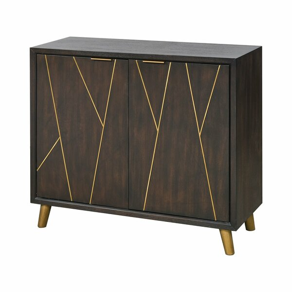 Greger Edge 2 Door Cabinet by Brayden Studio Brayden Studio