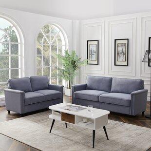 Jenkinsburg 2 Piece Living Room Set by Alcott Hill®