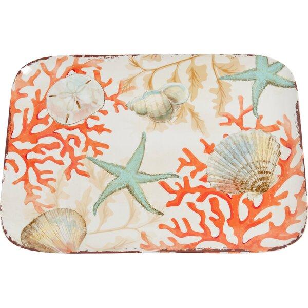 Edenvale Melamine Platter by Beachcrest Home