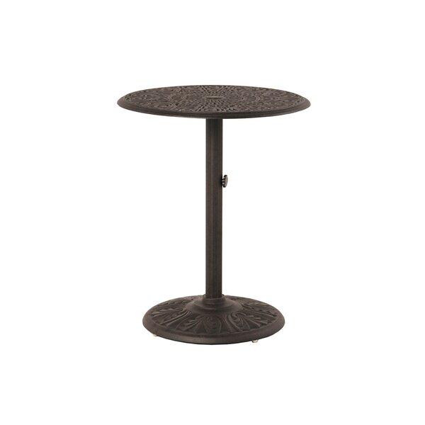Merlyn Metal Bar Table by Fleur De Lis Living Fleur De Lis Living