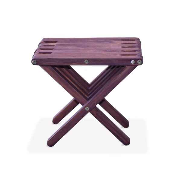 Danwood Solid Wood Side Table By Union Rustic
