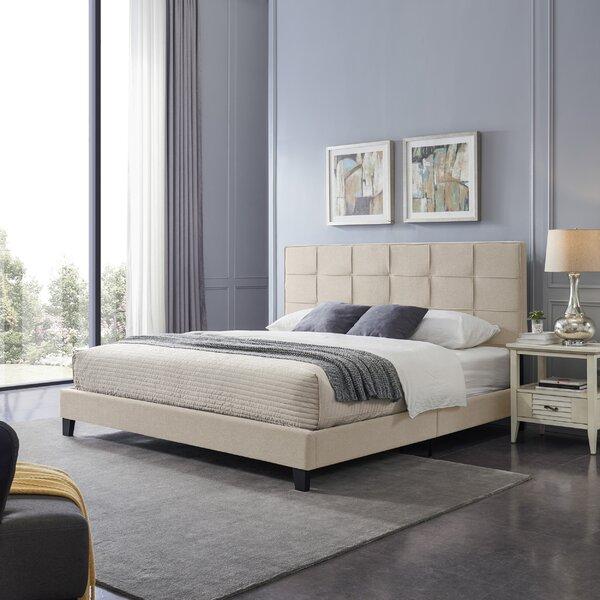 King Upholstered Platform Bed By Ebern Designs